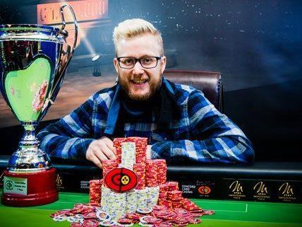 David Packer gewinnt die Concord Million in Wien.