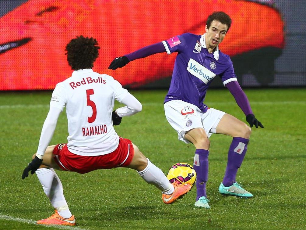 Austria Wien vs. Red Bull Salzburg - Meister verwandelte 0:2 in 4:2.