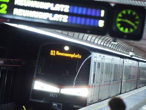 Die Station Reumannplatz wurde kurzfristig gesperrt.