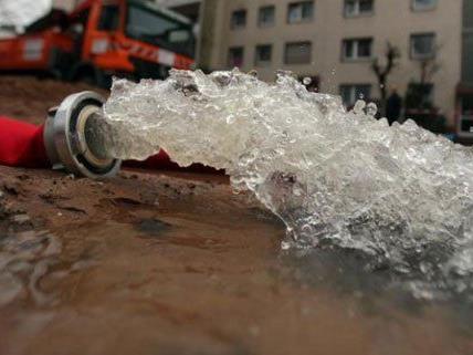 Im 19. Bezirk gibt es Verzögerungen wegen eines Wasserrohrbruchs.