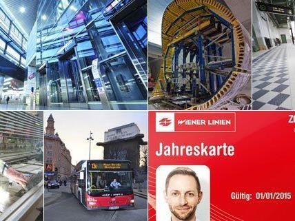 2015 gibt es bei den Wiener Verkehrsbetrieben einige Neuerungen.