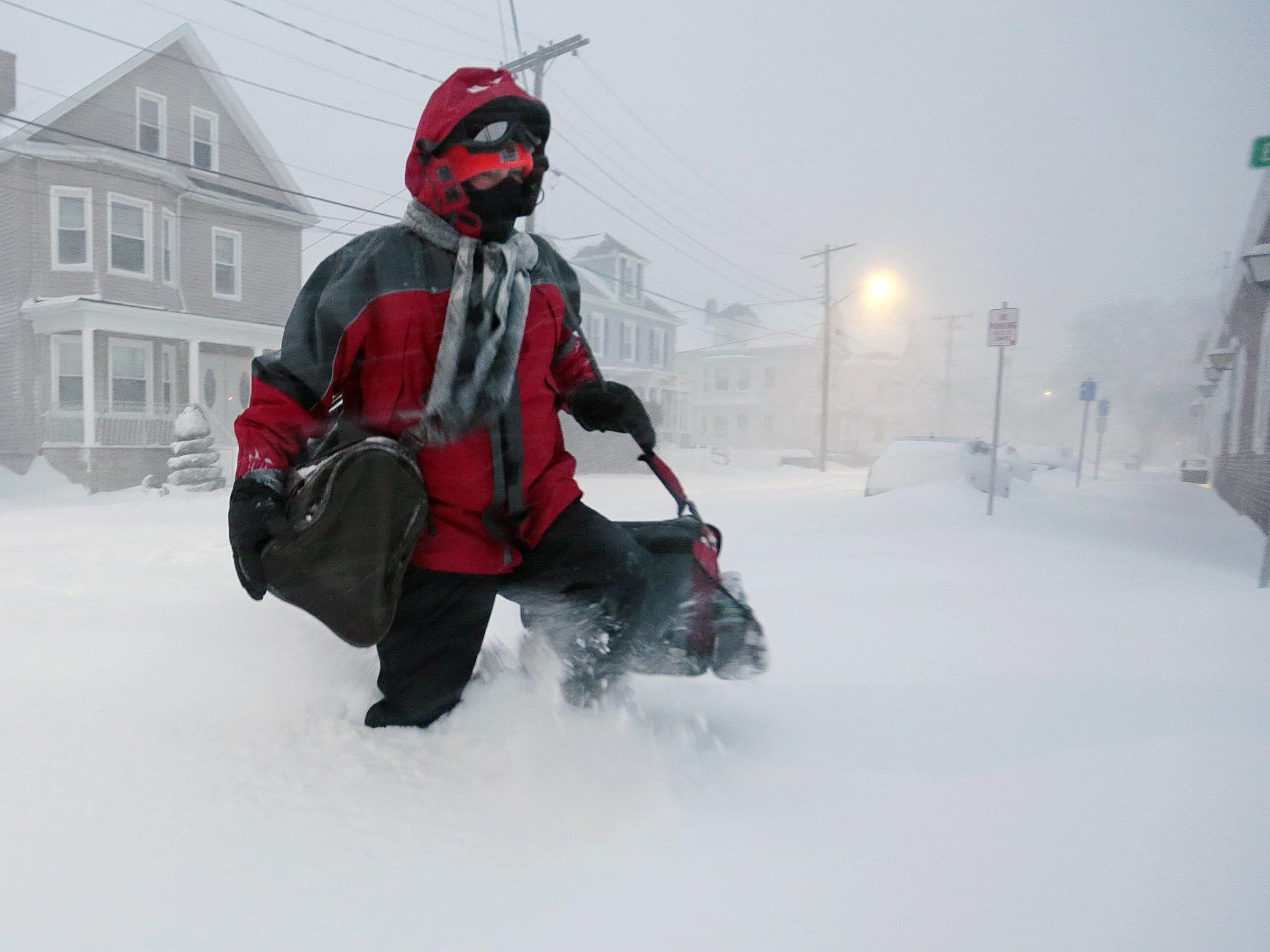 """""""Juno"""" wütet in Nordamerika: Klimatische und geografische Bedingungen in Österreich verhindern derartige Extreme."""