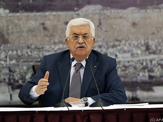 Abbas' Palästinenser nahmen Zuständigkeit an