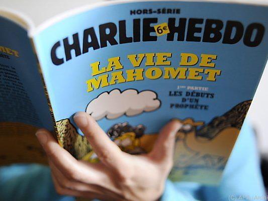 """Neue """"Charlie Hebdo""""-Ausgabe in Rekordauflage"""