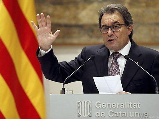 Kataloniens Ministerpräsident Artur Mas