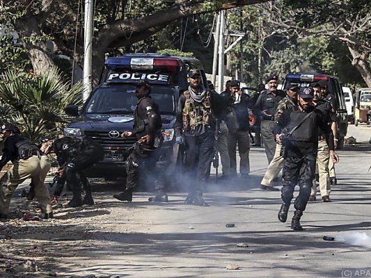 Gewaltsame Proteste in Karachi