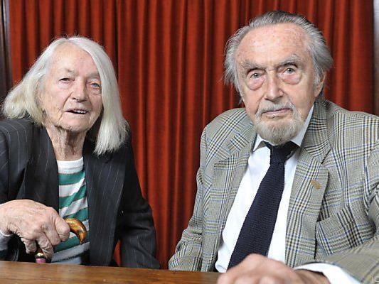 Lotte und Hans Hass im Jahr 2009