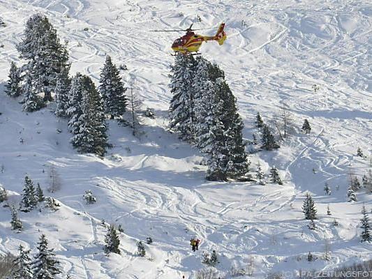 Einsatz der Bergrettung in St. Anton