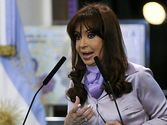Schwere Vorwürfe gegen Präsidentin Kirchner