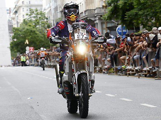 Matthias Walkner nimmt Rallye mit KTM in Angriff