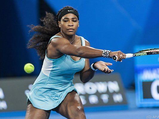 Wunderserum Kaffee brachte Serena noch den Sieg