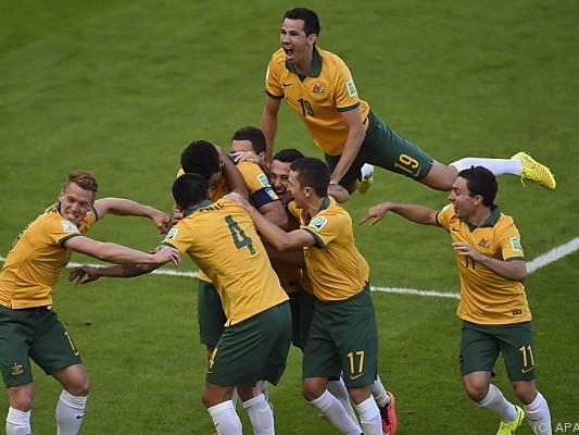 """Die """"Socceroos"""" werden als Mitfavoriten gehandelt"""