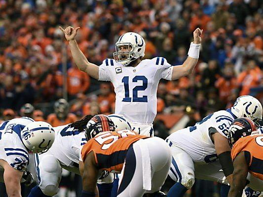 Andrew Luck führte die Colts ins Conference Finale