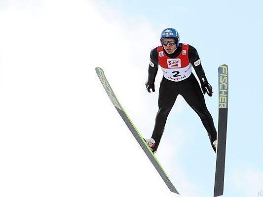 Bernhard Gruber fiel von Rang zwei weit zurück