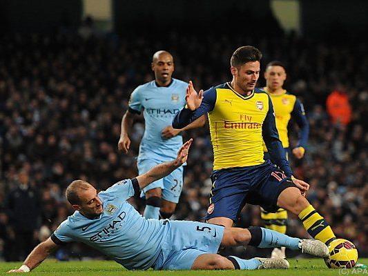 ManCity-Schlappe in Schlagerspiel gegen Arsenal