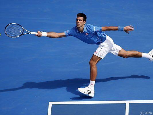 Djokovic ließ Aljaz Bedene keine Chance
