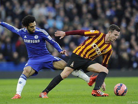 Drittligist Bradford schlug Chelsea