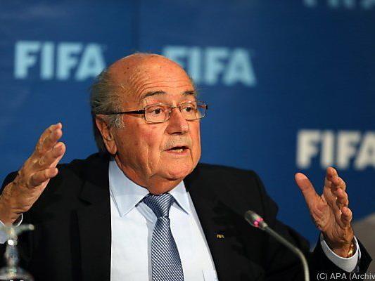 FIFA-Boss Blatter in der Kritik