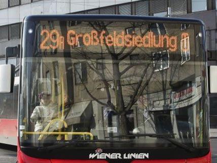 Auf der Linie 29A ist es am Dienstag zu einem Unfall gekommen.