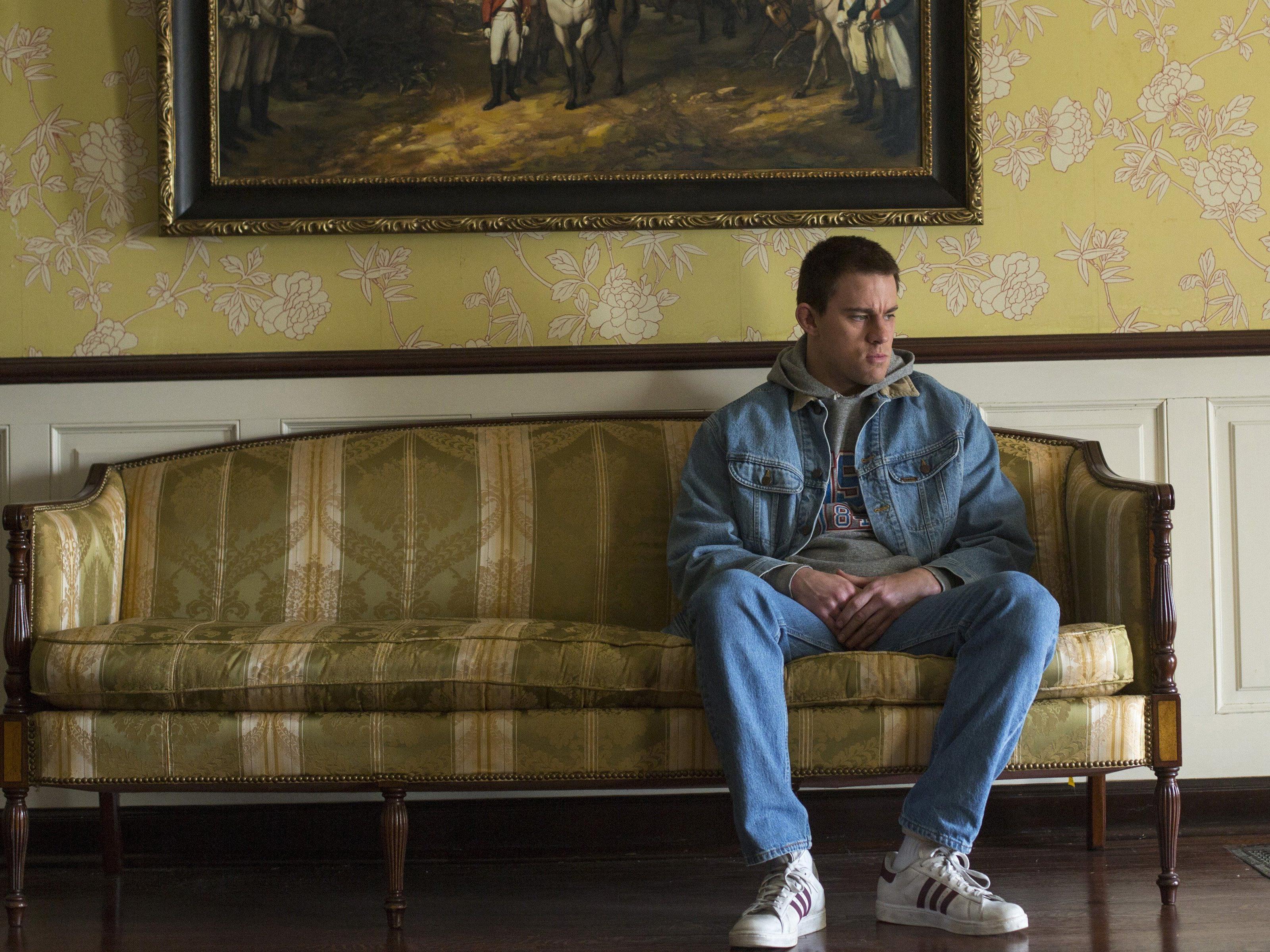 Foxcatcher: Channing Tatum in seiner Rolle als Mark Schultz.
