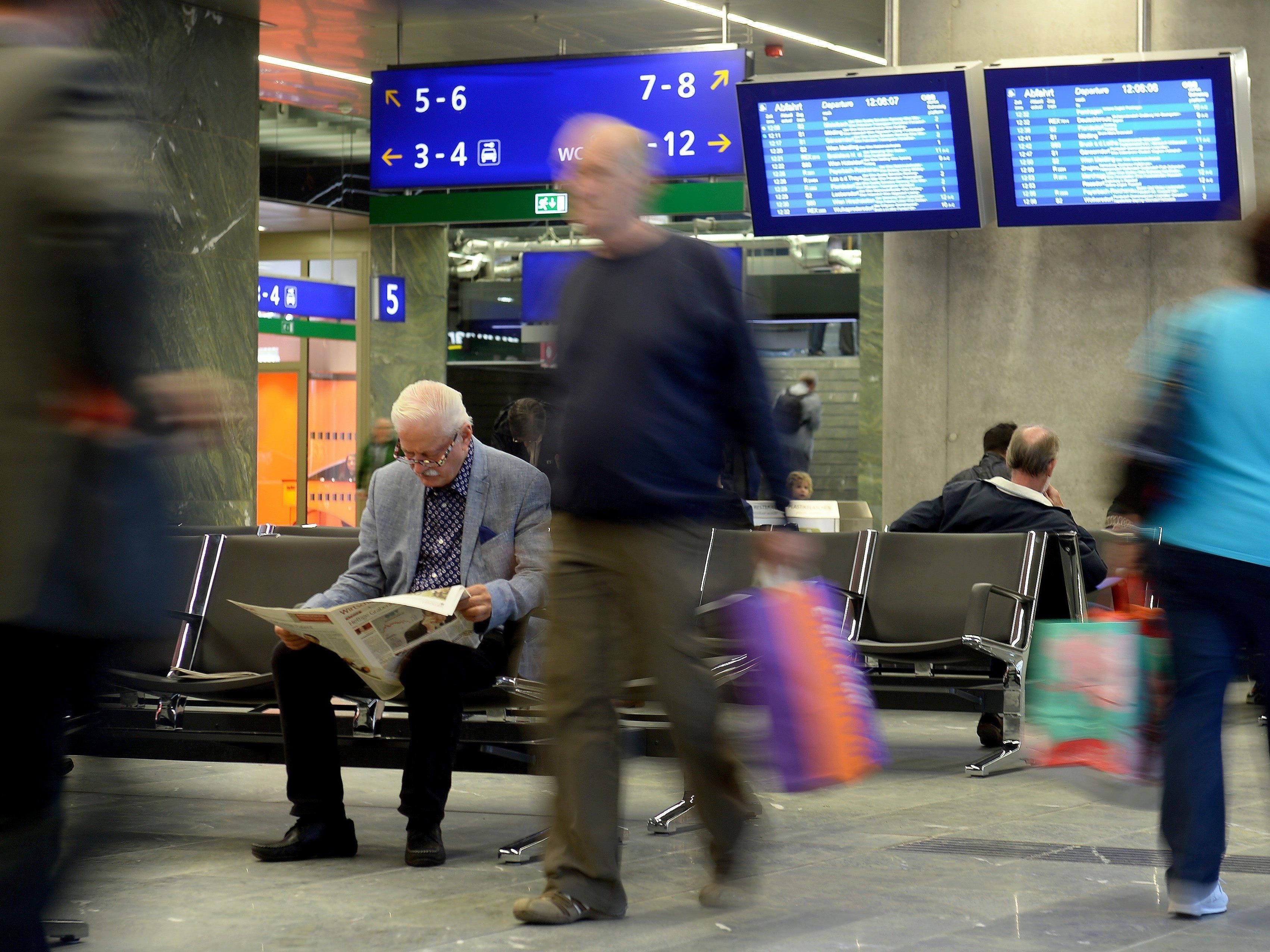 Sozialarbeiter-Stützpunkt am Wiener Hauptbahnhof eröffnet
