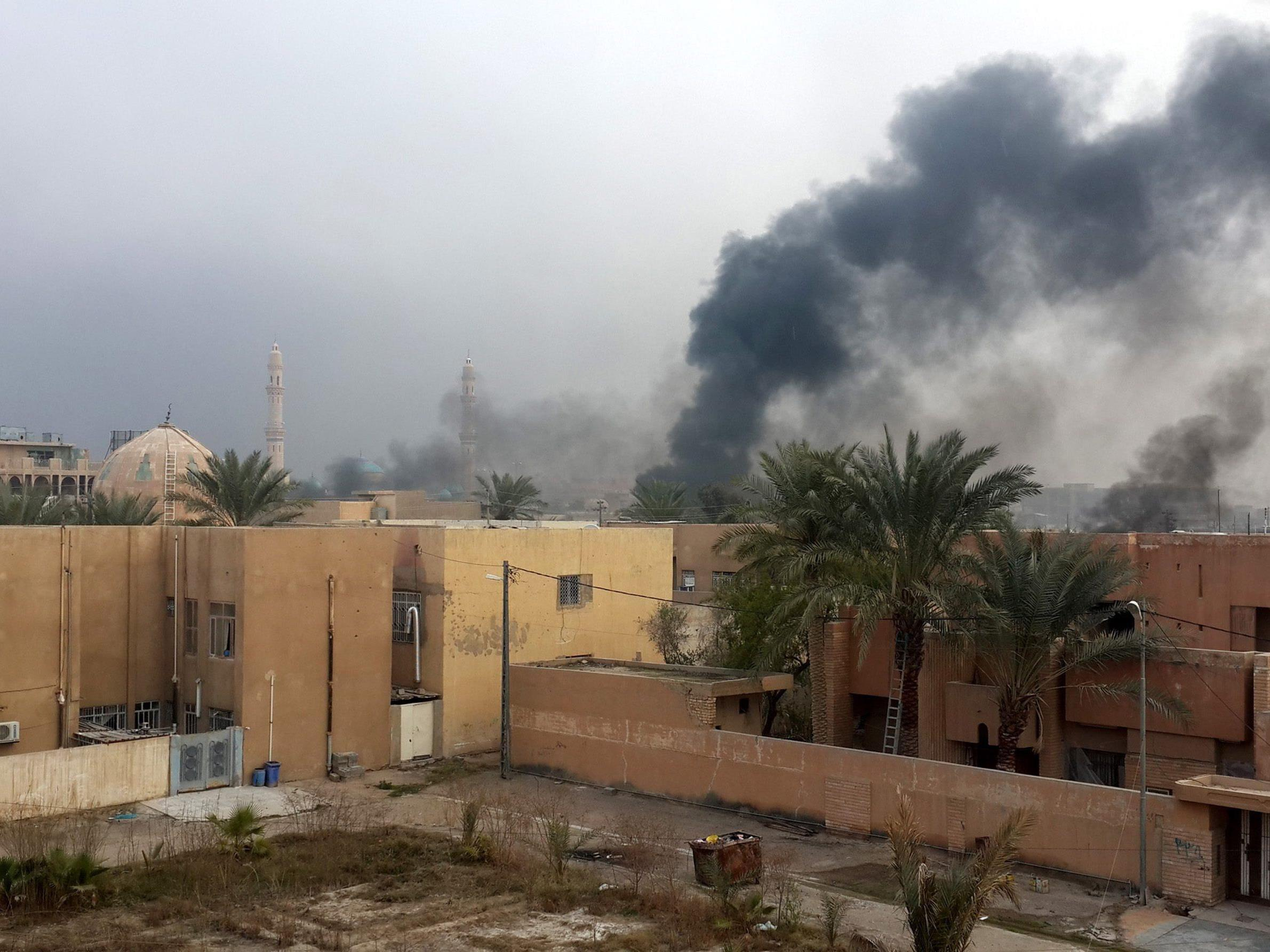 Bei einem Anschlag in der irakischen Hauptstadt Bagdad kamen mindestens 44 Menschen ums Leben.