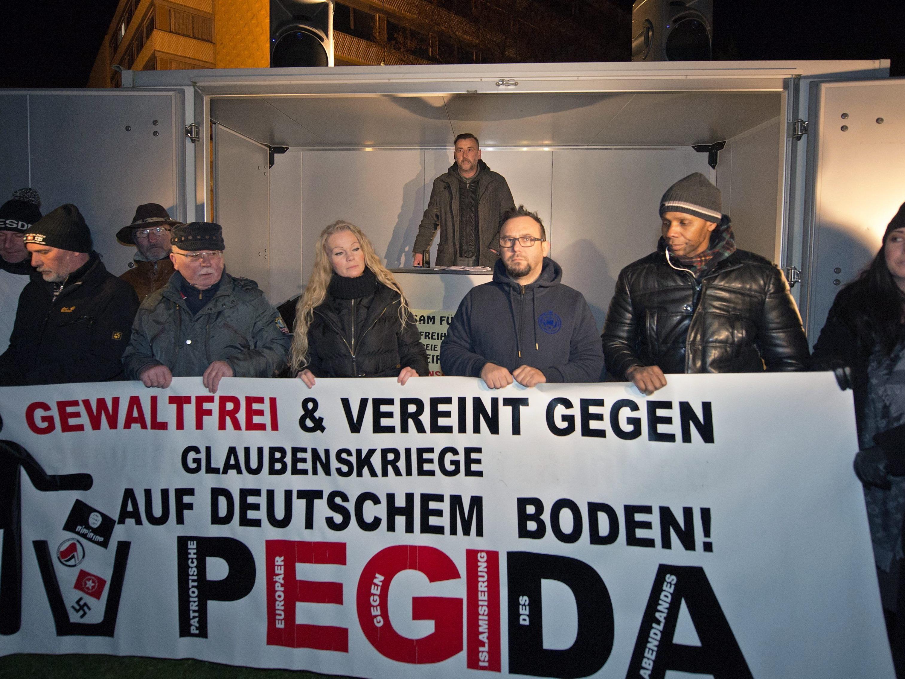 Pegida-Vokabular zum Teil ideologisch sehr bedenklich.