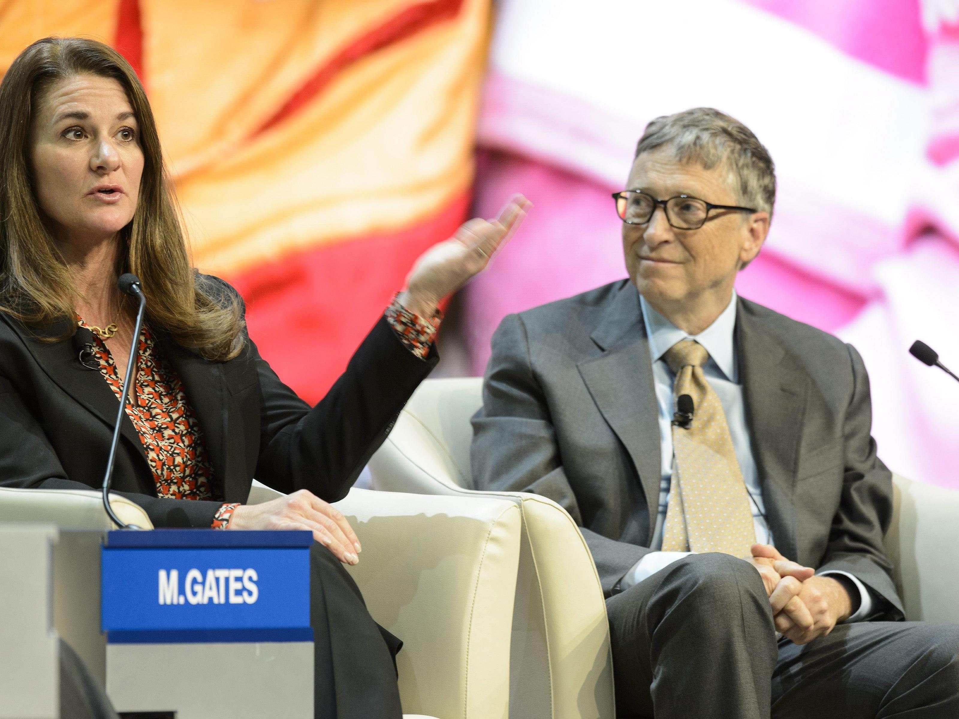 Melinda und Bill Gates.