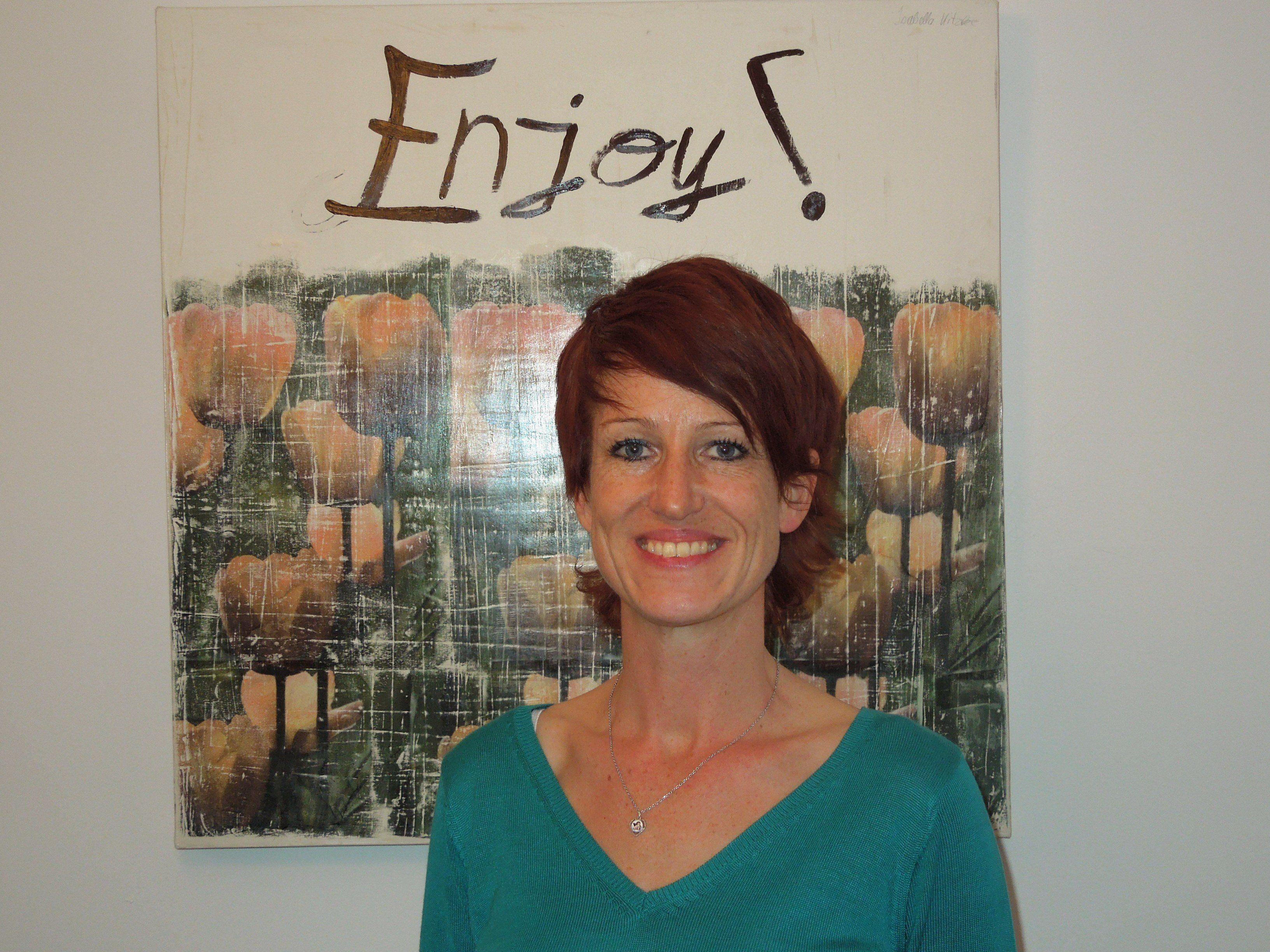 Angelika Kitzke macht mit großer Leidenschaft Menschen mental stark.
