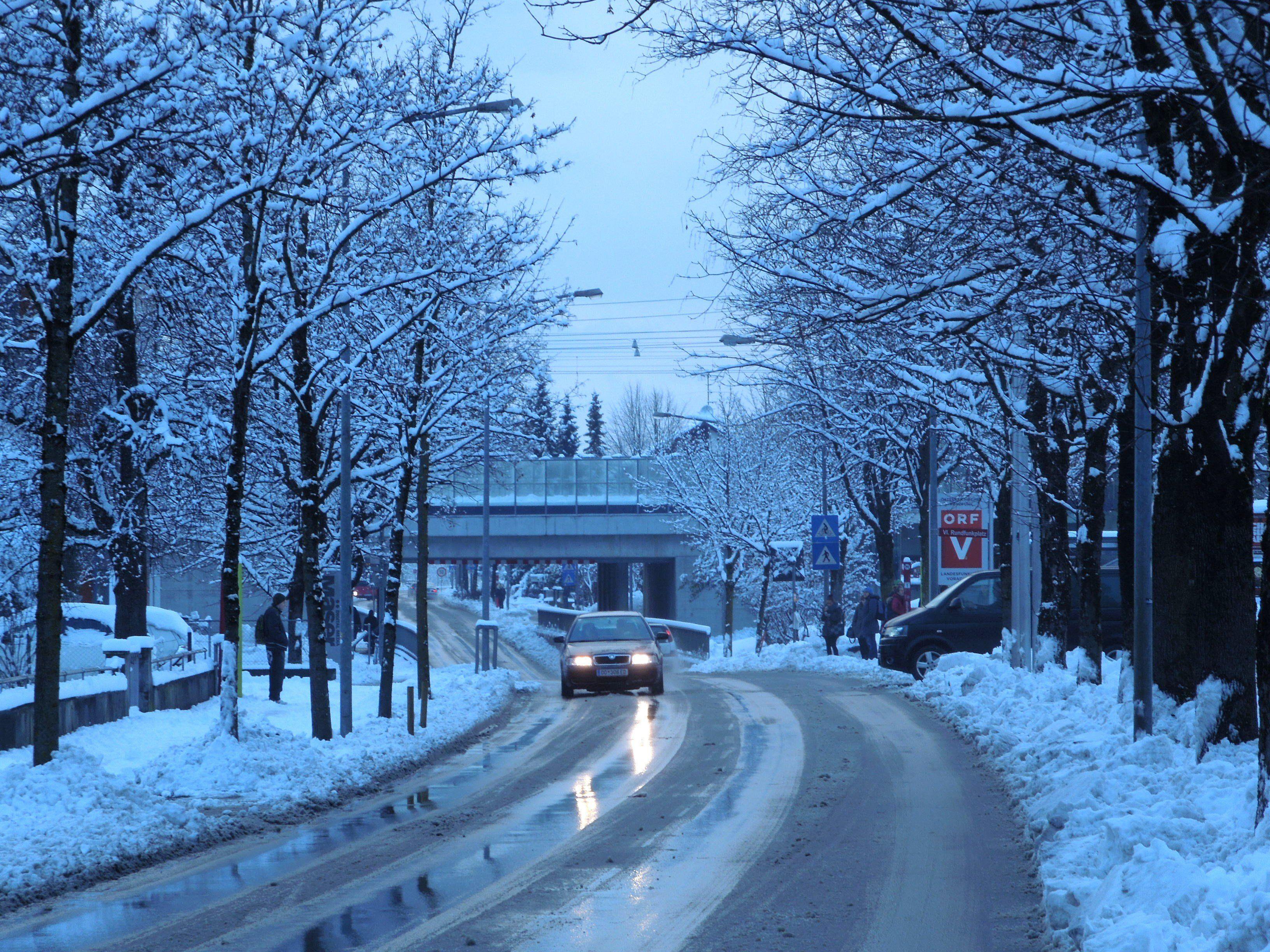 In der Höchsterstraße in Dornbirn funktioniert die Straßenbeleuchtung wieder.