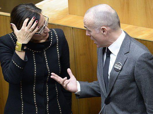 Uneinig in der Asyl-Frage: Innenministerin Johanna Mikl-Leitner und Verteidigungsminister Gerald Klug