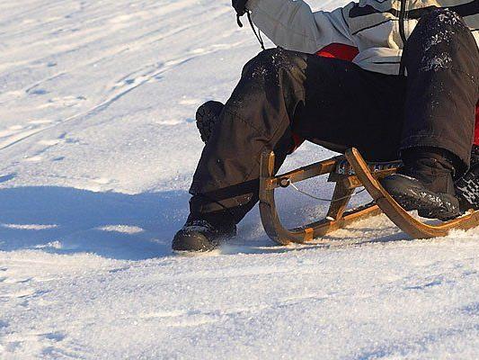 Beim Rodeln verunfallte eine Wienerin in der Steiermark