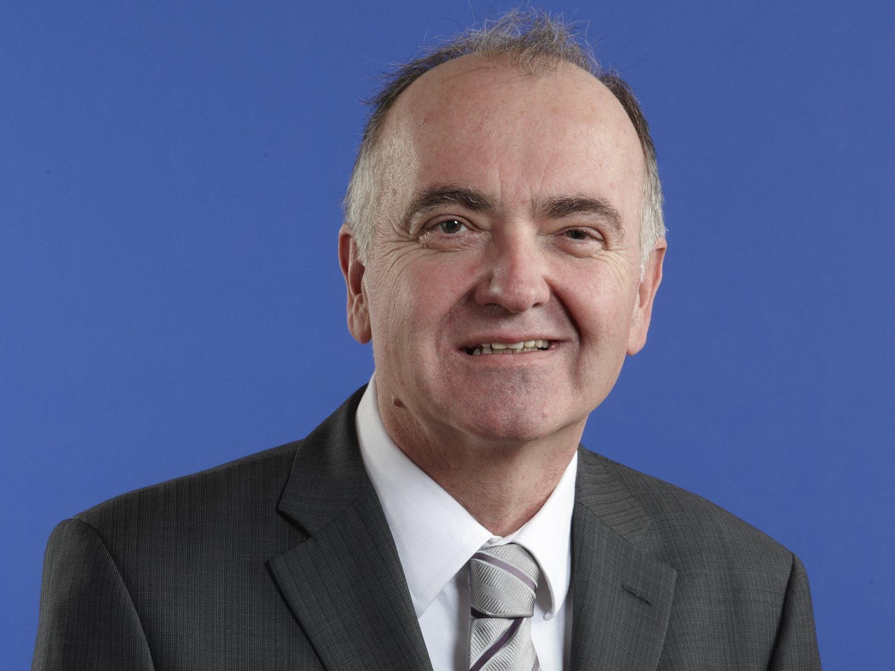 Stadtrat Walter Schönbeck
