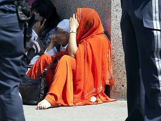 Am 24. Mai 2009 nach einem Terror-Anschlag von Sikhs auf einen indischen Tempel in Wien-Rudolfsheim