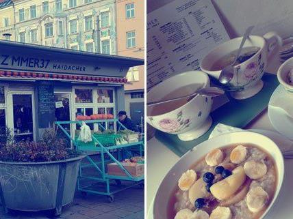 Frühstücken am Karmelitermarkt im Zimmer37