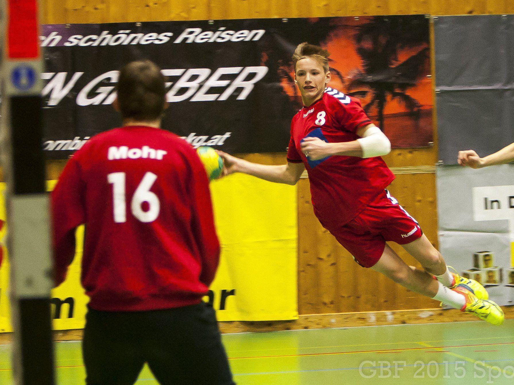 Julius Forer, U16 TS Dornbirn Handball