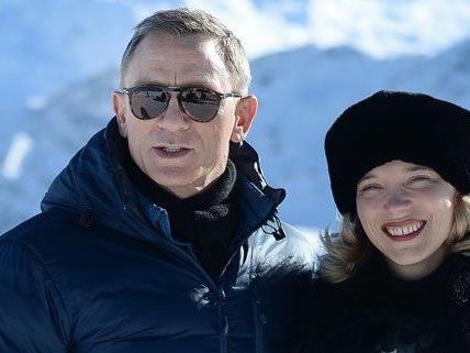 An drei Orten in Österreich finden Bond-Dreharbeiten statt.