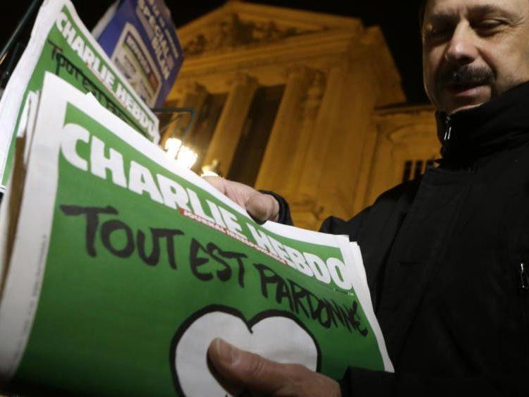 """Nur """"Cumhuriyet"""" druckte Charlie-Karikaturen nach"""