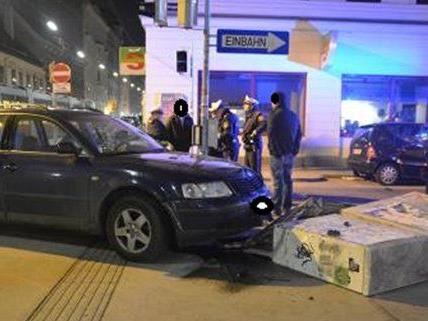 Schwerer Unfall am Freitagabend.