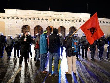 Insgesamt 5.000 Demonstranten waren in Wien unterwegs.