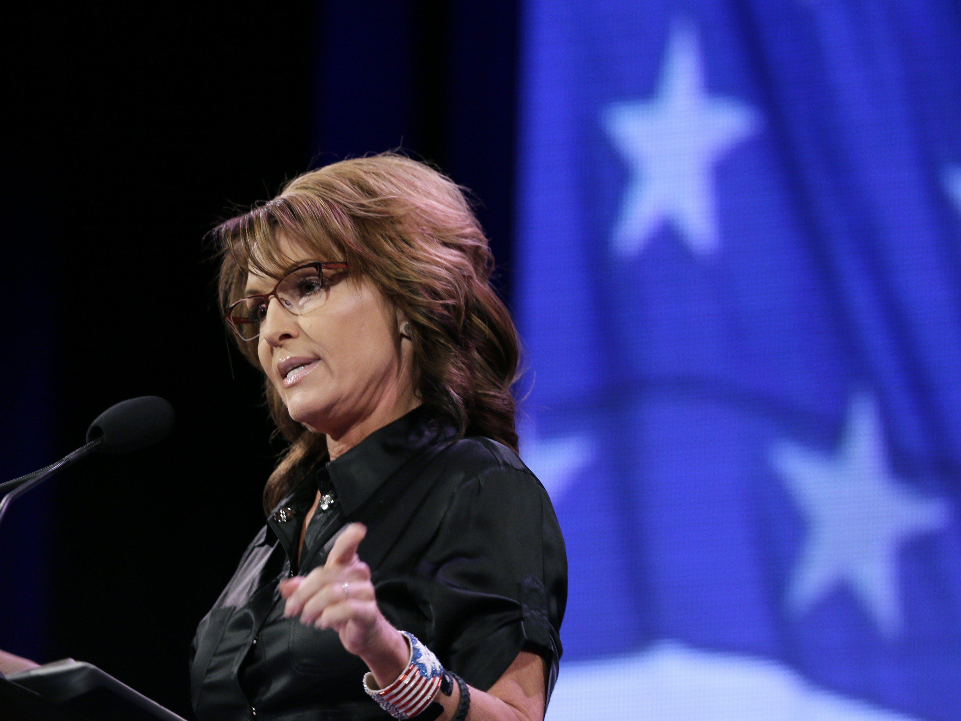 Sarah Palin sorgte in Iowa für Lacher