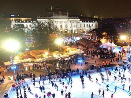 """Bereits zum 20. Mal wird in Wien der """"Eistraum"""" veranstaltet."""