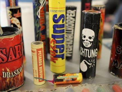 Feuerwerkskörper wurden zahlreichen Österreichern auch heuer zum Verhängnis