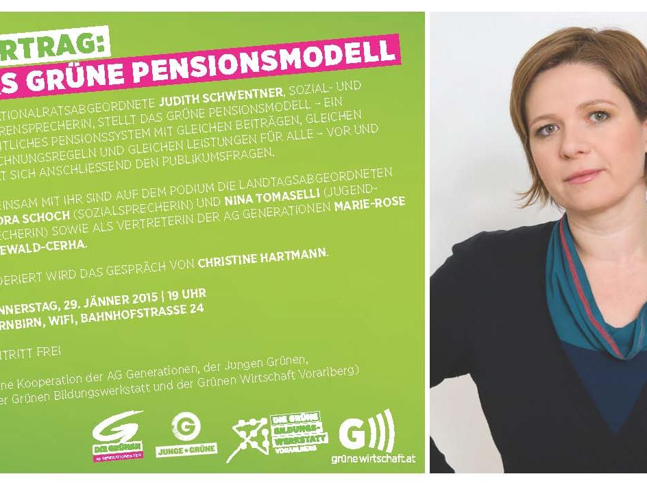 "Vortrag ""Das Grüne Pensionsmodell"""