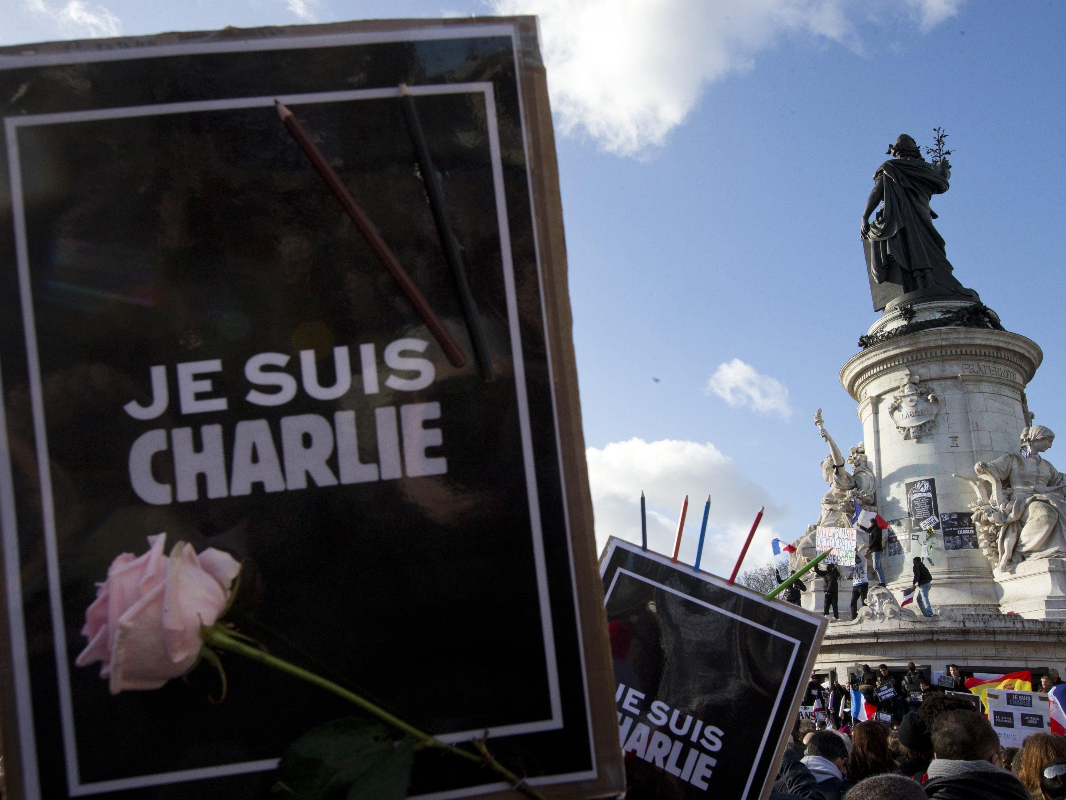 Nach der Terrorwelle, die Frankreich erschütterte, gingen Millionen auf die Straßen und zeigten sich solidarisch mit den Opfern.