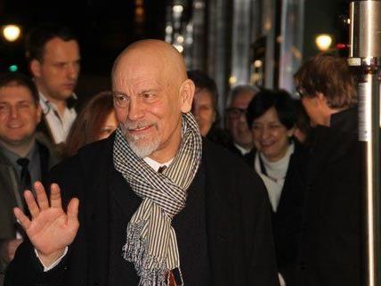 John Malkovich war wegen der Kino-Premiere in Wien.