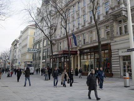 Die Mariahilfer Straße in Wien wurde komplett umgestaltet.