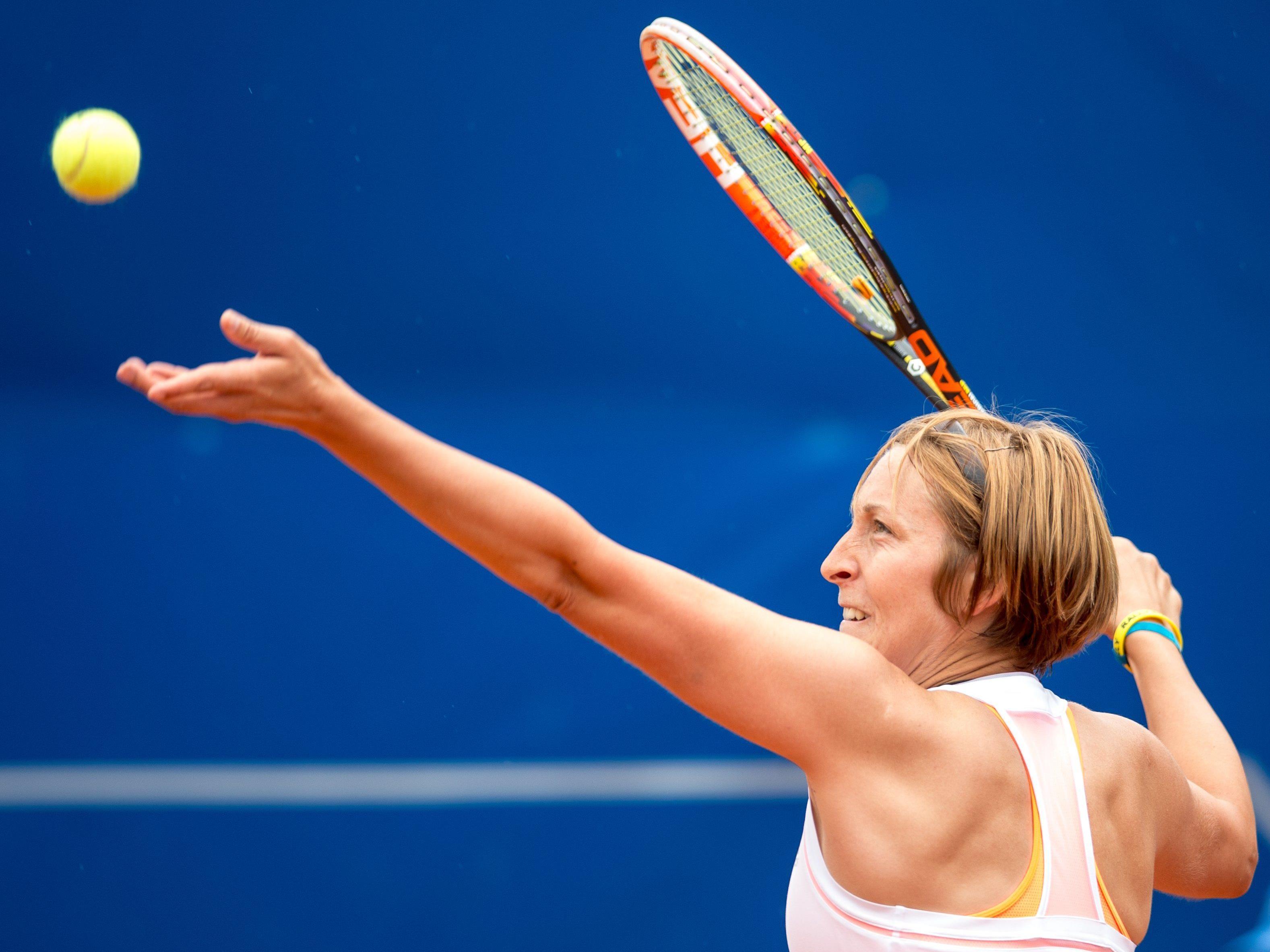 Yvonne Meusburger beendet Tennis-Karriere.