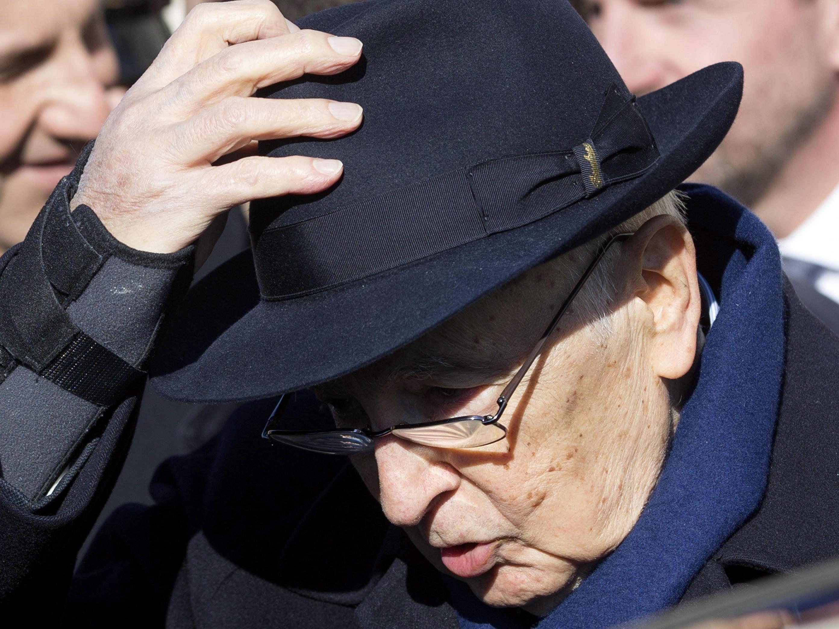 Napolitano nimmt nach neun Jahren den Hut.