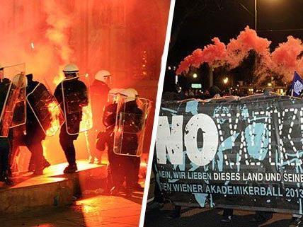 Akademikerball: Polizei verdächtigt NOWKR als kriminelle Organisation